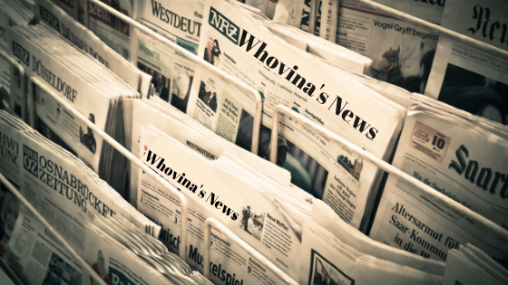 Image of newspaper stand, breaking news.
